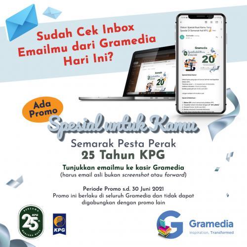 Email Khusus Pembaca Setia KPG