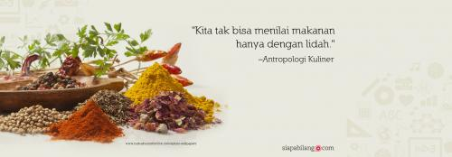Header Buku Seri TEMPO: Antropologi Kuliner Nusantara