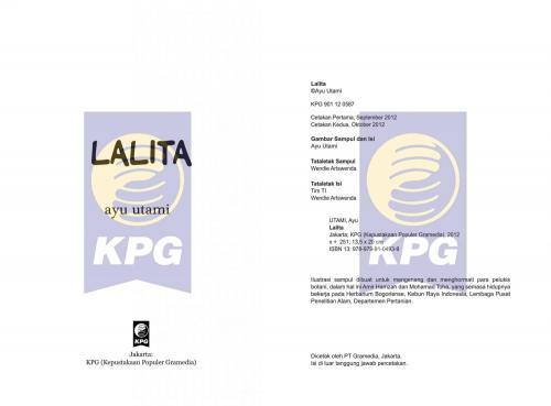 Cover Photo Icip-Icip Buku Lalita