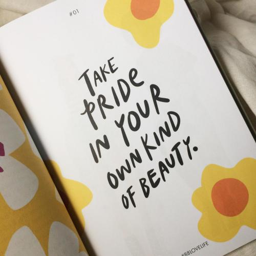 Take Pride in Your Own Kind of Beauty