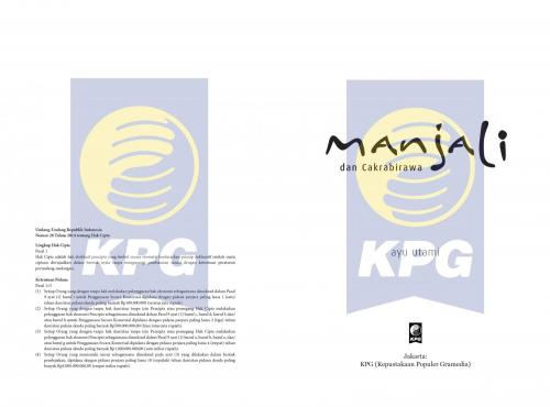 Cover Photo Icip-Icip Buku Manjali