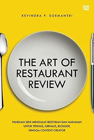 Resensi Buku The Art of Restaurant Review di Goodreads
