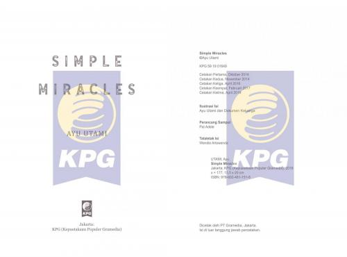 Cover Photo Icip-Icip Buku Simple Miracles