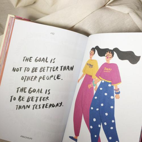 The Goal is Not To Be Better Than Other People