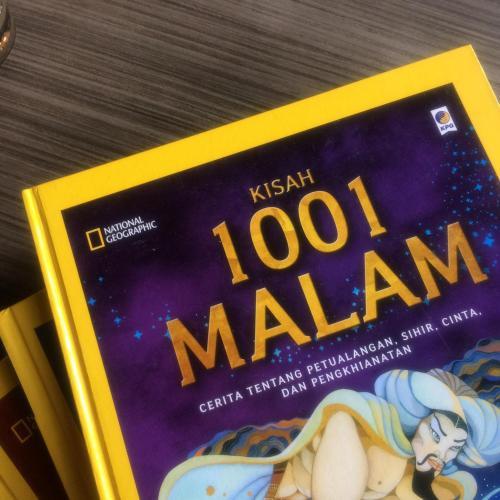 Cover Buku Nat Geo: Kisah 1001 Malam