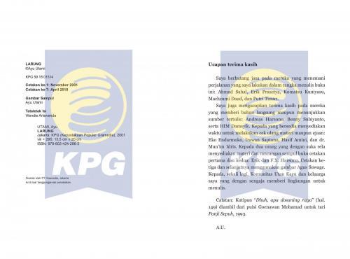 Cover Photo Icip-Icip Buku Larung