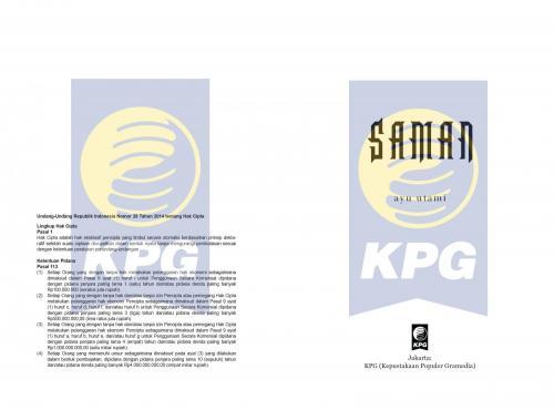 Cover Photo Icip-Icip Buku Saman