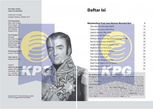Cover Photo Icip-Icip Buku Seri TEMPO: Jalan Pos Daendels