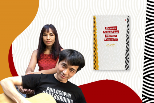 """Buku """"Menulis Kreatif dan Berpikir Filosofis"""" untuk Menemukan Jati Diri"""