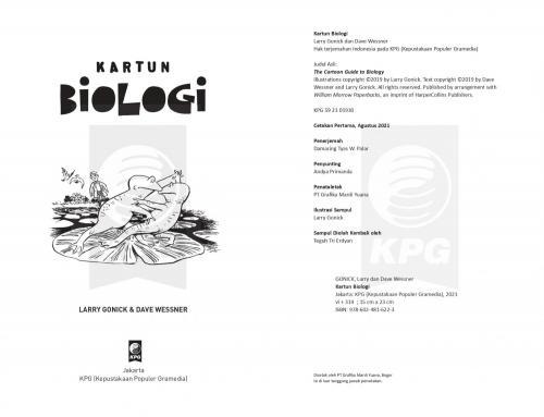 Cover Photo Icip-Icip Buku Kartun Biologi