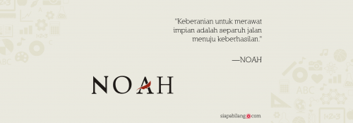 Header Buku Noah 6.903 Mil