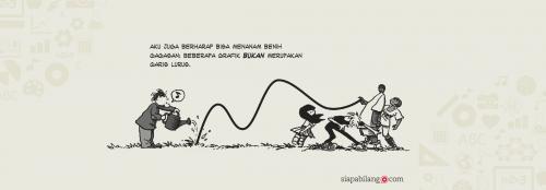 Header Buku Kartun Aljabar