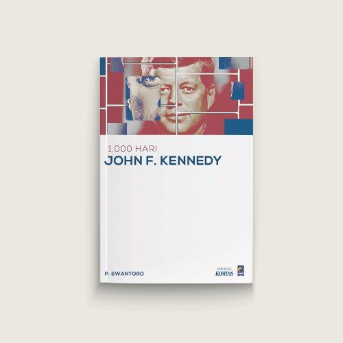 Cover Buku  1.000 Hari John F. Kennedy