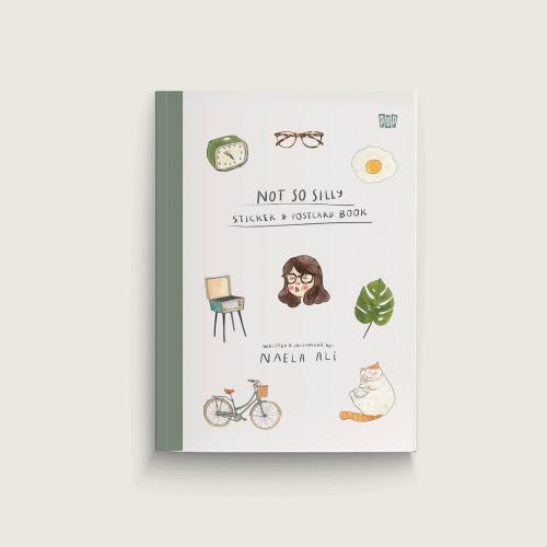 Not so Silly Sticker & Postcard Book