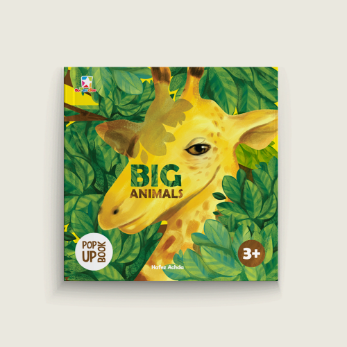 Pop Up Book: Big Animals